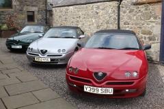 Alfa GTV Spider 2001 red