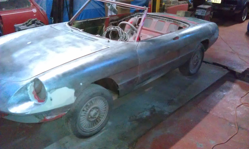 alfa spider bare metal